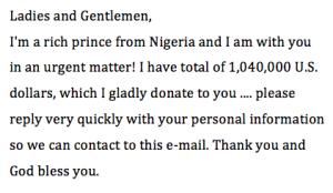 Der Nigerianische Prinz