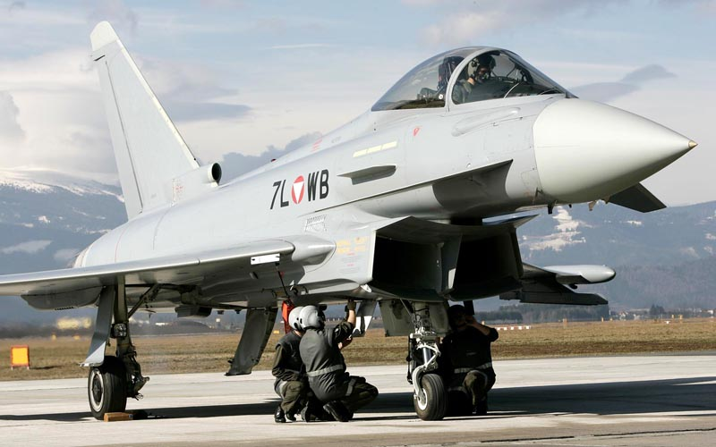 Bundesheer Eurofighter