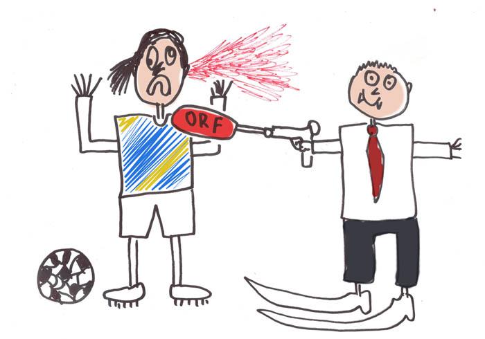 Zlatan versucht, das Trauma zu verarbeiten