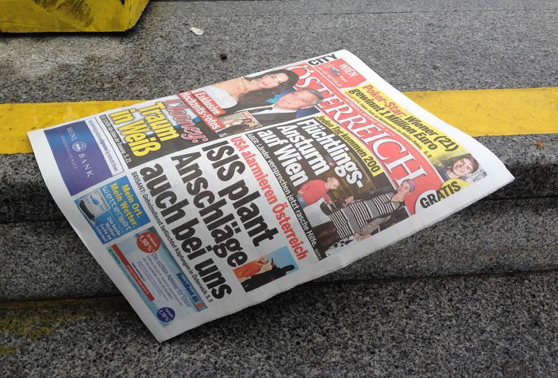 Gratis Osterreich Zeitung Fur Alle Haushalte Sturzt