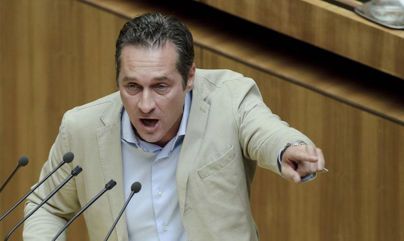 HC Strache kritisiert UNO-City