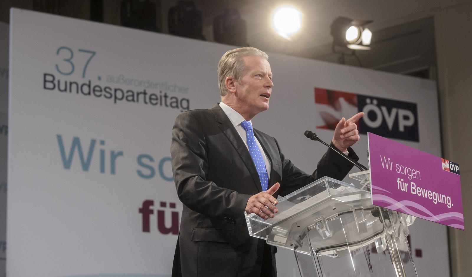 ÖVP Herd Mitterlehner