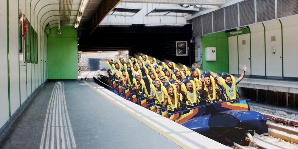 Open-Air-Züge Wiener Linien