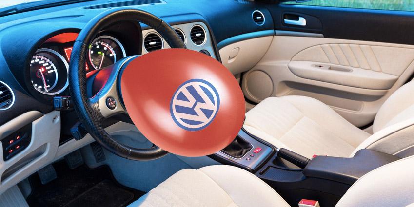 Luftballons bei VW