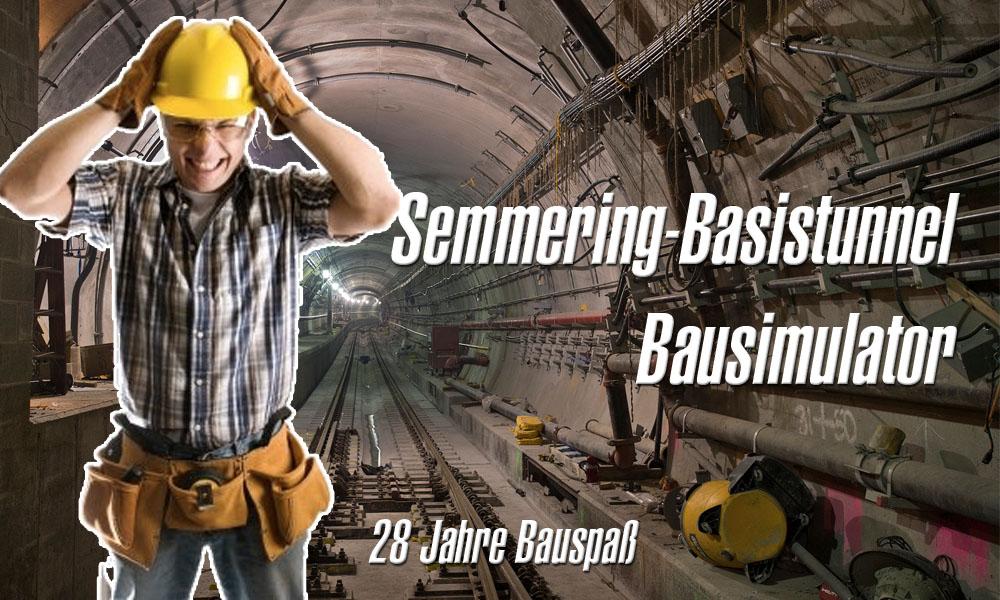 Semmering Basistunnel Bausimulator