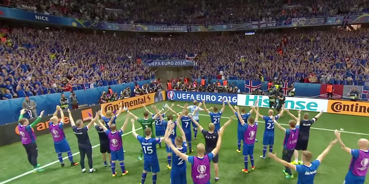 Isländische Fans