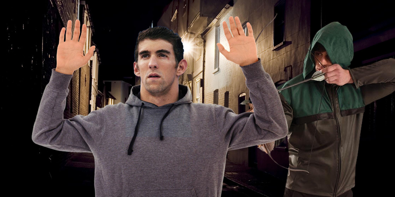 Phelps wird ausgeraubt