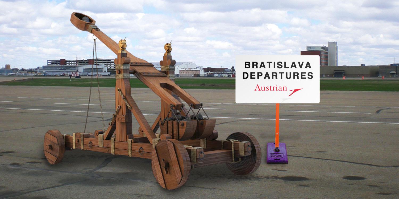 Direktflug nach Bratislava