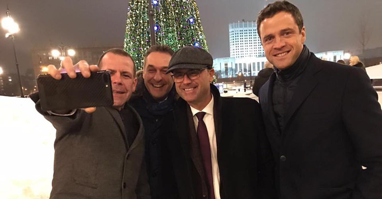 FPÖ in Moskau