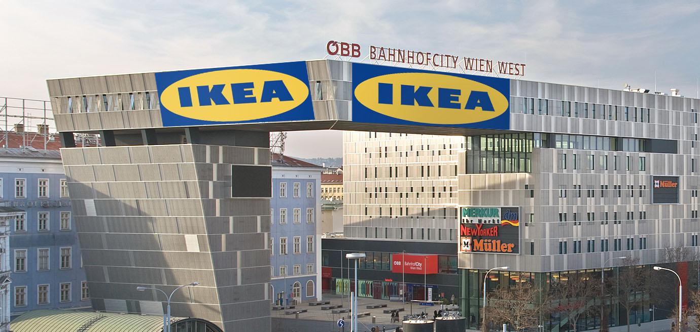 Ikea am Westbahnhof