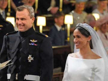 Norbert Hofer bei royaler Hochzeit