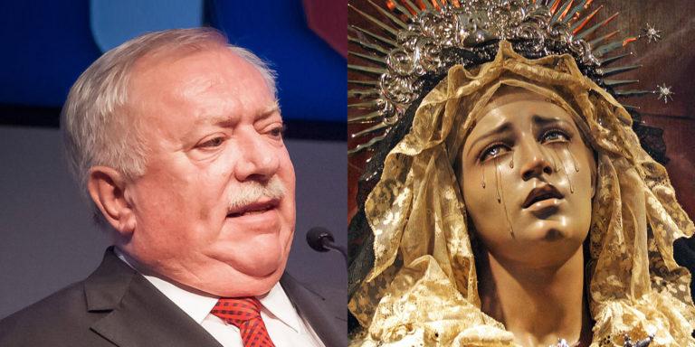 Marienstatue weint Spitzwein wegen Abschied von Häupl