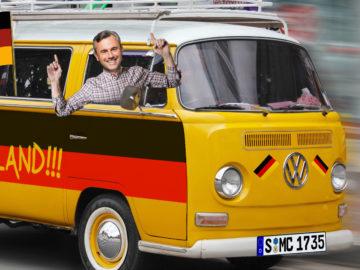 Deutscher Fanbus mit Norbert H.