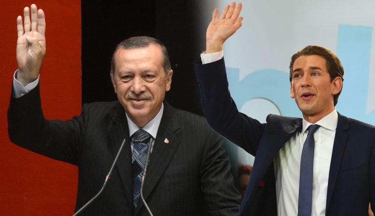 Erdogan bedankt sich bei Kurz für Schließung der Moscheen