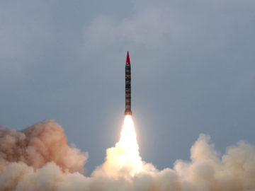 Nordkorea schickt Atomwaffe