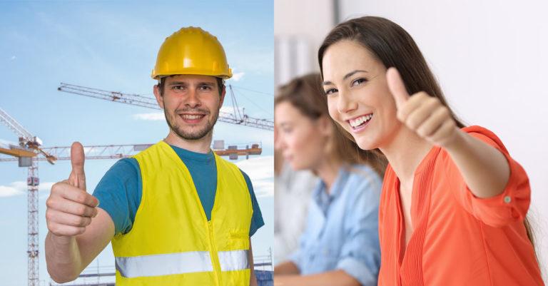 Arbeiter freuen sich über den 12-Stunden-Tag