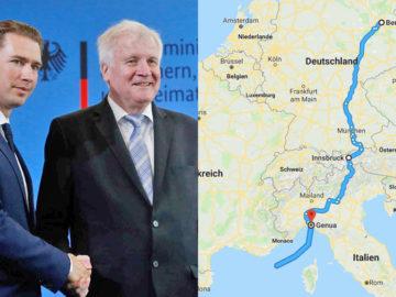 Kurz und Seehofer beschließen Interrail für Flüchtlinge