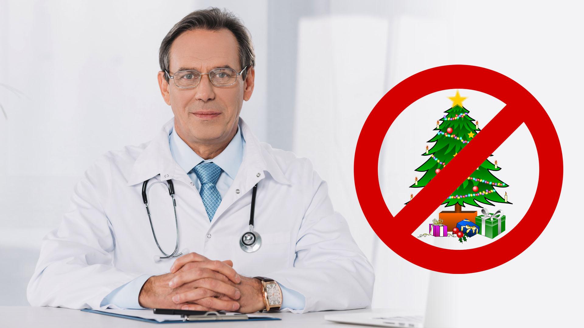 Will er Weihnachten verbieten? Dieser Arzt empfiehlt weniger als ...