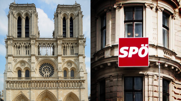 Notre Dame und SPÖ