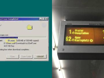 Wiener Linien Zeitangaben