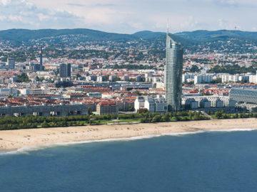 Meeresküste vor Wien