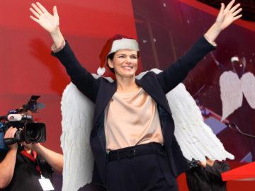 Rendi-Wagner als Christkind