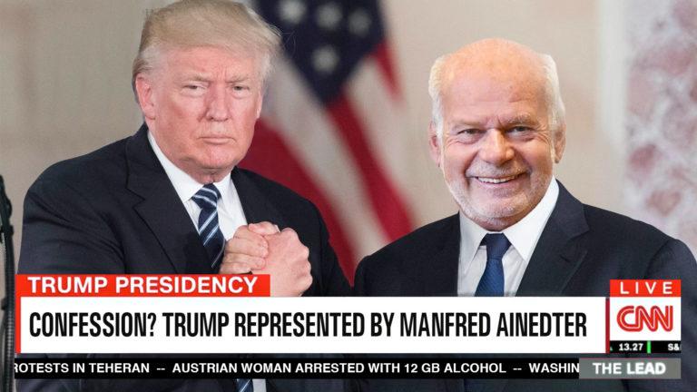 Trump und Ainedter