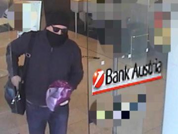 Bankräuber verlässt Bank Austria