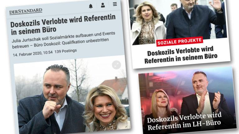Doskozil und Verlobte