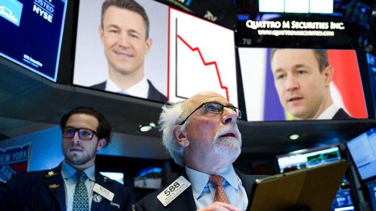 Besorgte Trader