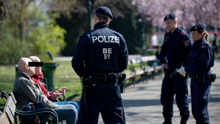 Polizei kontrolliert