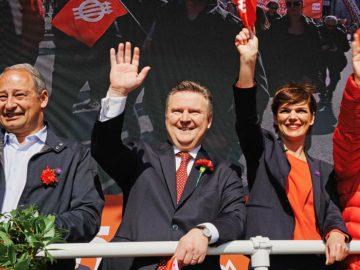 SPÖ-Spitze beim 1. Mai
