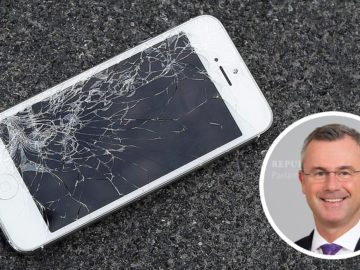 Norbert Hofer, iPhone