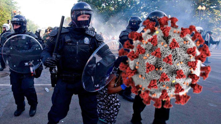 Coronavirus Polizei