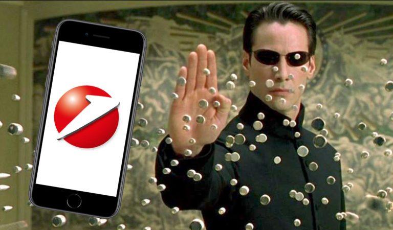 Neo in Matrix
