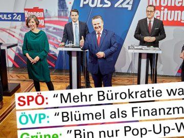 Wien-Wahl 2020 Wahlmotive