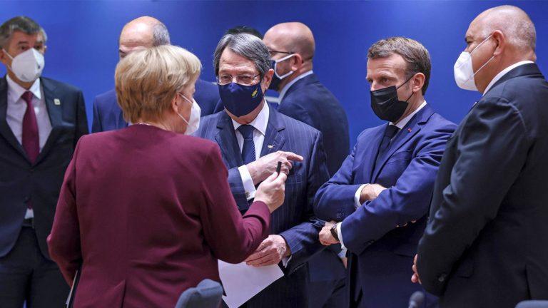 EU-Spitze Macron, Merkel und Co beraten sich