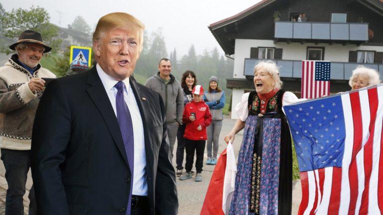Trump im Kleinwalsertal