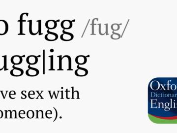 Wörterbuch mit fugging