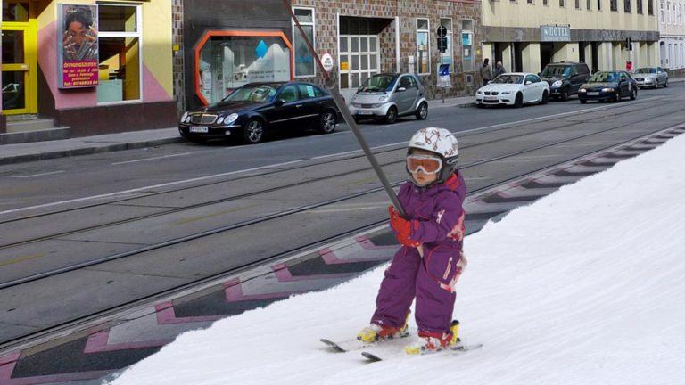 Tellerlift auf der Ottakringer Straße