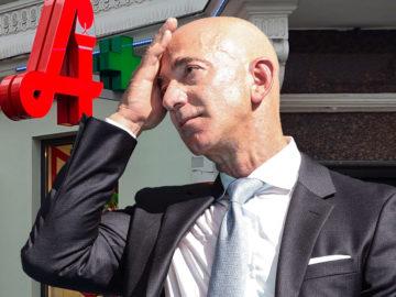 Jeff Bezos ist entsetzt
