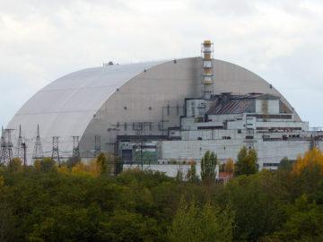 Sarkophag über Tschernobyl