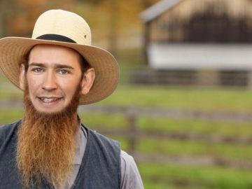 Sebastian Kurz als Amish