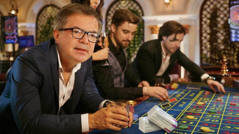 Anschober spielt Roulette