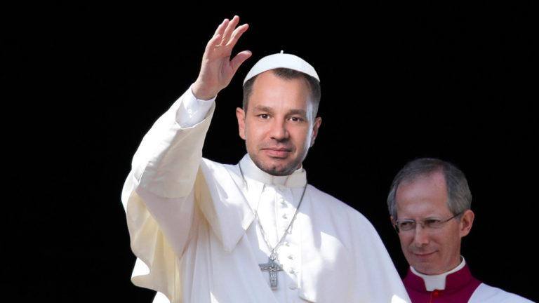 Thomas Schmid als Papst