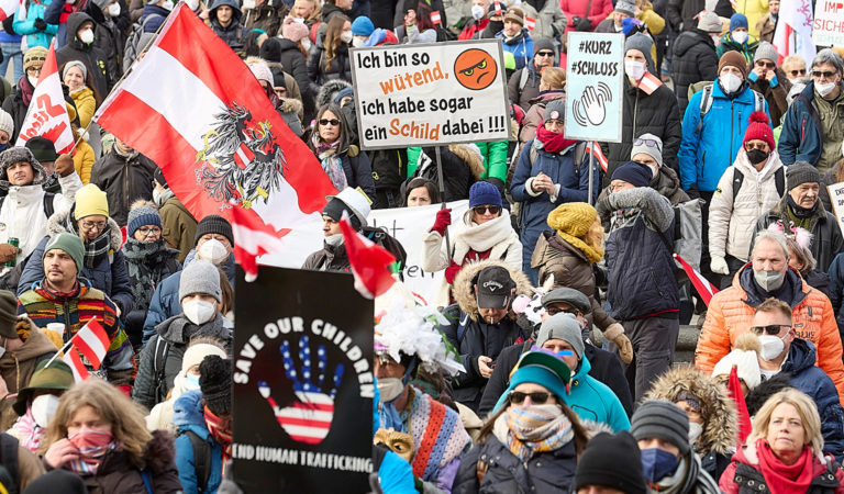 Querdenker demonstrieren