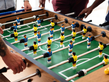 Tischfußball-Tisch