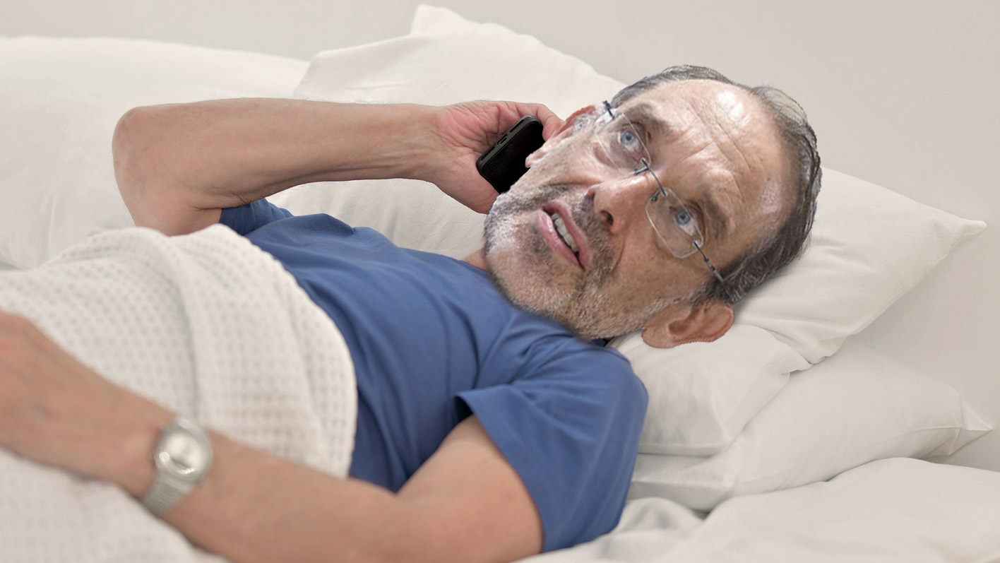 -Hab-50-Grad-Fieber-Fa-mann-hat-keinen-Bock-auf-Schule-und-bleibt-im-Bett-liegen