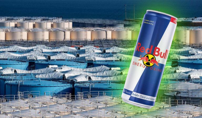 Strahlende Red Bull Dose