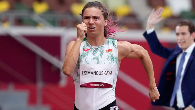 Timanowskaja läuft vor Kurz davon